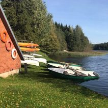 Boats, canoes, paddling, fishing, biking Žiogelis